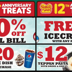 Pepper Lunch: Enjoy Amazing Treats from $1.20 with E-Vouchers!