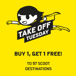 Scoot: Buy 1 Get 1 FREE for 57 Destinations!