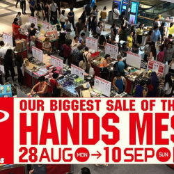 Tokyu Hands: Biggest Sale of the Year - Hands Messe is Back!