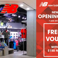 New Balance: New Store Opening Special with FREE $40 Voucher at Paragon