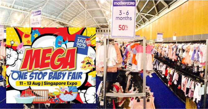 e8b9dae565b76 Babyland is back with unmatched deals and crazy clearance offers at Baby  Land Mega One Stop Baby Fair at Singapore Expo this weekend!