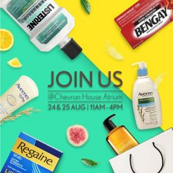[Watsons Singapore] Join us at Chevron House Atrium on 24 & 25 Aug (Thu & Fri) from 11am – 4pm!