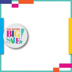[Metro] Stretch your shopping dollars and save BIG at the Metro Big Sale!