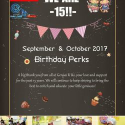 [WESTGATE KIDS CLUB POWERED BY GENIUS R US] We are 15!