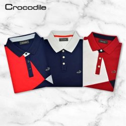 [Crocodile] Celebrating Singapore 52nd Birthday with Crocodile, showcase true Singapore fashion with our color-block polo shirt that stands out from