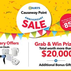[Courts] COURTS Causeway Point store anniversary sale.