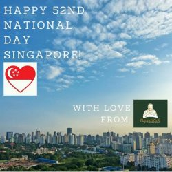 [PappaRich] Happy National Day Singapore!