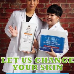 [Kiehl's Singapore] Say hello to Kenneth Yeo and Yvon Kuah from Kiehl's Tangs Plaza Level 1.