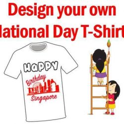 [eXplorerkid] Get your child's creative juices flowing this August when they design their own National Day t-shirt at eXplorerkid!