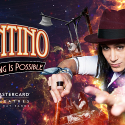 [Standard Chartered Bank] Experience mind-boggling illusions and death-defying escapes with Cosentino: Anything Is Possible, happening at the Mastercard Theatre, Marina Bay