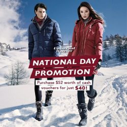 [Universal Traveller] Our National Day promo is still on!