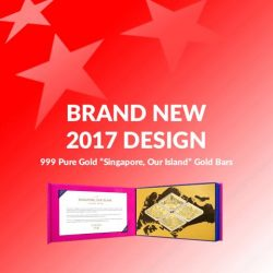 """[CITIGEMS] Have you seen Citigems' brand new, limited edition 999 Pure Gold """"Singapore, Our Island"""" Gold Bars?"""