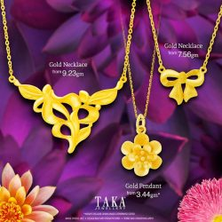 [Taka Jewellery Treasures] It's the time of the year for The Great TAKA Sale!