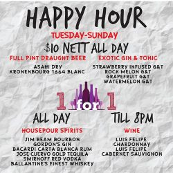 [District 10 Bar & Grill] HAPPY HOUR UPDATES!