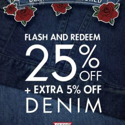 [GUESS Singapore] This deal just got even hotter - Receive an additional 5% OFF when you flash this post in-stores!