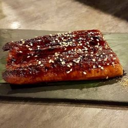 [The Sushi Bar Dining] Unagi Kabayaki - these freshwater eel are carefully marinated in sweet sauce and broiled on a grill for your fuss free