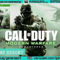 [GAME RESORT] XB1 Call Of Duty Modern Warfare Remastered,One of the most critically-acclaimed games in history, Call of Duty®: Modern