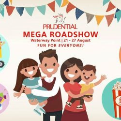 [DIGGERSITE] FREE Diggersite Rides and membership giveaway at Prudential Mega Roadshow in Waterway Point @Punggol from 25th - 27th August (11am to