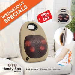[OTO Bodycare] WEDNESDAY 02 AUG SPECIAL - OTO HANDY SPA at 58% OFF!