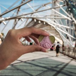 [Marks & Spencer] A romantic stroll at the Helix Bridge with a pack of gelatine-free Percy Pig gummies in hand?