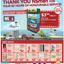 [Watsons Singapore] Bask in the National Day vibes with Watsons!