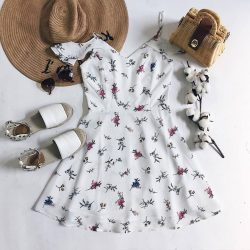 [MDSCollections] Mix and match   Freesia Cami Dress in White