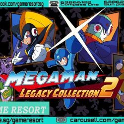 [GAME RESORT] PS4 & XB1 Megaman Legacy Collection 2,4-in-1 Timeless Adventures - Experience the legacy of long-time video game icon