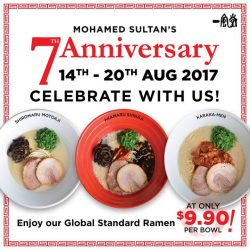 [Ippudo Express] IPPUDO Mohamed Sultan is turning 7!