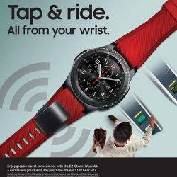 [Newstead Technologies] Enjoy greater travel convenience with the EZ-Charm Wearable – exclusively yours with any purchase of Gear S3 or Gear Fit2