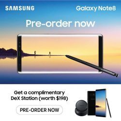 [Harvey Norman] The new Samsung Galaxy Note8 is here, specially designed to turn your big ideas into reality.