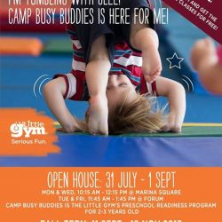 [The Little Gym] CAMP BUSY BUDDIES is The Little Gym Preschool Readiness Program!