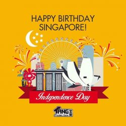 [MUSIC BOX] One Singapore One Nation strong and freeHappy Birthday Singapore