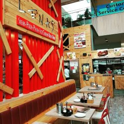 [Lenas ] Pays lebar square Lenas  weekday lunch 11.
