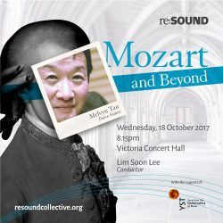 [SISTIC Singapore] Tickets for re:SOUND - Mozart and Beyond goes on sale on 7 August 2017.