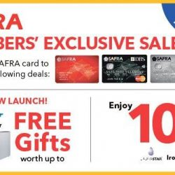 [Courts] SAFRA Members Exclusive Sale on Laurastar Ironing System & Blueair Air Purifier!