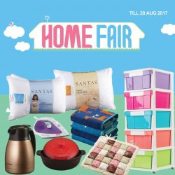 [BHG Singapore] Refurbish your home with BHG Home Fair happening now till 20 Aug'17.
