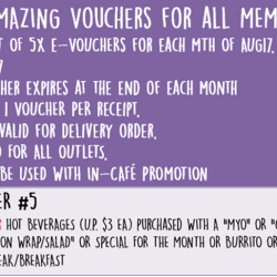 [Simply Wrapps] Aug's 5x Amazing Vouchers!