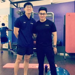 [Anytime Fitness] Our Coaches Liang and Neo 😍 If you need a head start in the gym, feel free to approach them for