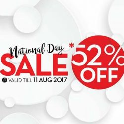 [KORRES] Let's celebrate Singapore National Day with: - *52% off all showergel (250mL) and, - 30% storewide discount for other non-promotional