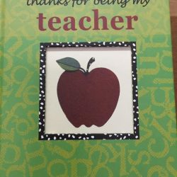 "[TRUMPET PRAISE] Offer this book "" thanks for being my teacher"" at special price $6."