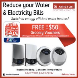 [Ariston] Did you buy your Ariston Constant Temperature instant water heater between 9 June to 13 August 2017?
