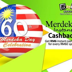 [Face to Face Noodle House] Happy 60th MerdekaLet's Celebrate our Freedom & Independence with Merdeka Instant Cashback Promotion by Face to Face Noodle House!