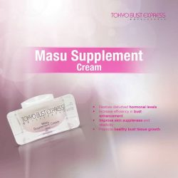 [BottomSlim & Tokyo Bust] TokyoBustPresents the Masu Supplement Cream, the best in town product to increase the efficiency in your bust enhancement.
