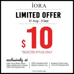 [IORA] 4 days only!