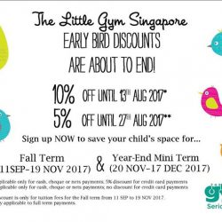 [The Little Gym] Hey parents, swing into savings with us!