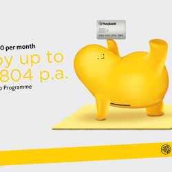 [Maybank ATM] You can now use your Horizon Visa Signature Card to earn up to S$1,804 p.