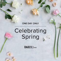 [Forever New] Tomorrow Only - Receive a Free Bouquet of Blooms When You Spend $75 Or More*.