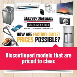 [Harvey Norman] Looking for bargains on furniture, bedding, electrical or I.