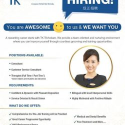 [TrichoKare] Are you seeking for a meaningful and rewarding career?