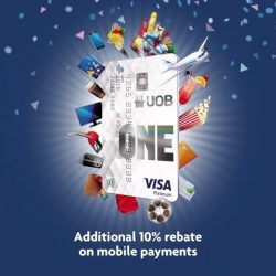 [UOB ATM] 10 years on, still Singapore's most generous rebate card.